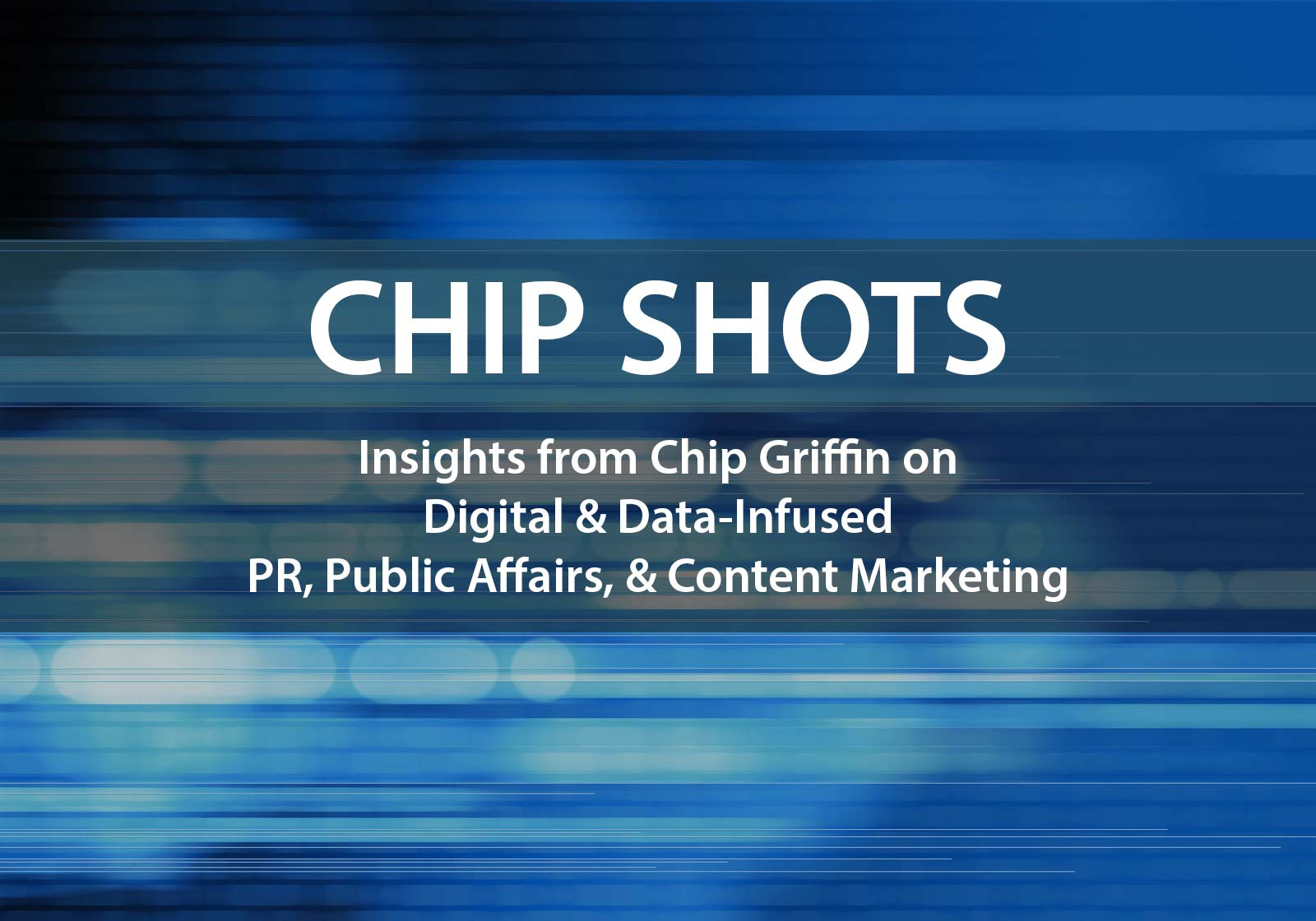 Chip Shots for July 16, 2017: AI, Measurement, and Leadership